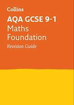 AQA GCSE Maths Foundation Revision Guide (Collins GCSE Revision and Practice New Curriculum)