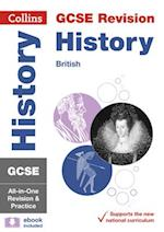 GCSE History - British All-in-One Revision and Practice (Collins GCSE Revision and Practice New Curriculum)