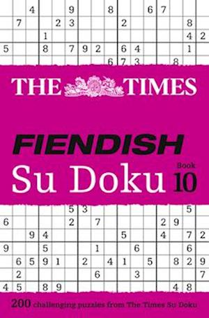 Bog, paperback The Times Fiendish Su Doku Book 10 af The Times Mind Games