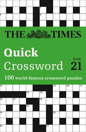 Bog, paperback The Times Quick Crossword Book 21 af The Times Mind Games