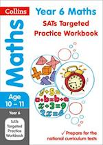 Year 6 Maths SATs Targeted Practice Workbook af Collins KS2