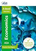 AQA A-Level Economics Practice Test Papers (Letts A level Practice Test Papers New 2015 Curriculum)