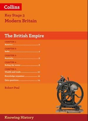 Bog, foldere KS3 History the British Empire af Robert Peal