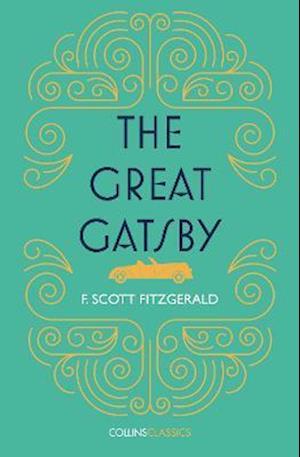 Bog, paperback The Great Gatsby af F. Scott Fitzgerald