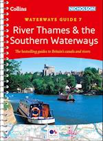 River Thames and Southern Waterways No. 7 af Collins Maps