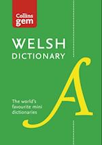 Collins Welsh Dictionary Gem Edition: Trusted support for learning, in a mini-format