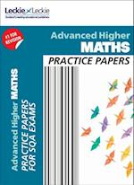 CfE Advanced Higher Maths Practice Papers for SQA Exams (Practice Papers for SQA Exams)