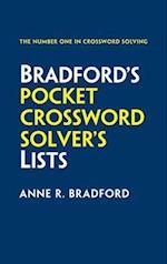 Collins Bradford's Pocket Crossword Solver's Lists