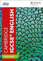 Cambridge IGCSE English Revision Guide (Letts Cambridge IGCSE)