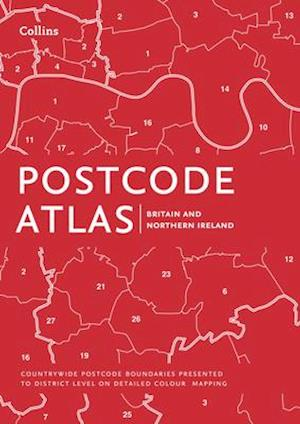 Bog, hardback Postcode Atlas of Britain and Northern Ireland af Collins Maps