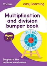 Multiplication & Division Bumper Book Ages 7-9 (Collins Easy Learning KS2)