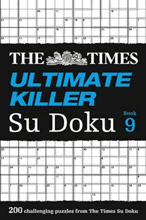 Bog, paperback The Times Ultimate Killer Su Doku Book 9: 200 Of The Deadliest Su Doku Puzzles af The Times Mind Games