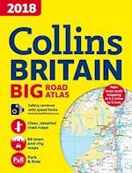 2018 Collins Big Road Atlas Britain af Collins Maps