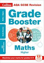 AQA GCSE Maths Higher Grade Booster for grades 5-9 (Collins GCSE Revision and Practice New Curriculum)