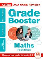 AQA GCSE Maths Foundation Grade Booster for grades 3-5 (Collins GCSE Revision and Practice New Curriculum)
