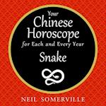 Your Chinese Horoscope for Each and Every Year - Snake