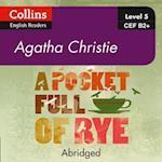Pocket Full of Rye: B2+ (Collins Agatha Christie ELT Readers)