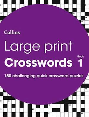 Large Print Crosswords Book 1