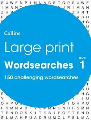 Large Print Wordsearches book 1