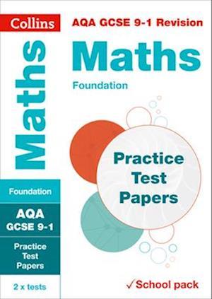 AQA GCSE 9-1 Maths Foundation Practice Test Papers