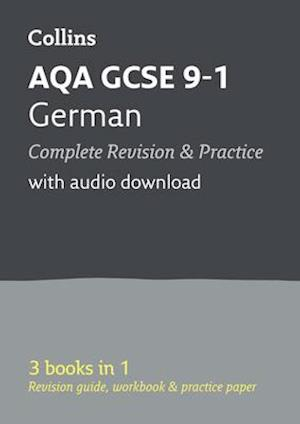 Grade 9-1 GCSE German AQA All-in-One Complete Revision and Practice (with free flashcard download)
