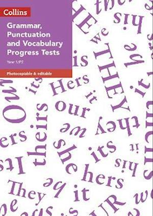 Year 1 Half Termly Progress Tests in Grammar, Punctuation and Vocabulary
