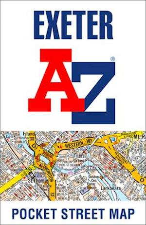 Exeter A-Z Pocket Street Map