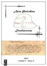 Acta Periodica Duellatorum (vol. 5, issue 2)