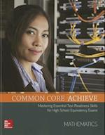 Common Core Achieve, Mathematics Subject Module (Ccss for Adult Ed)