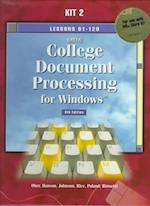 Gregg College Keyboarding and Document Processing for Windows, Kit 2 W/ MS Word 97