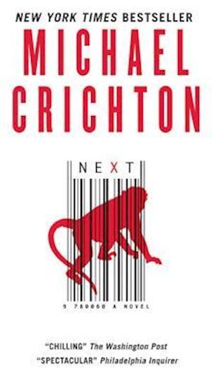 Bog, paperback Next af Michael Crichton