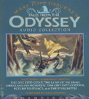 Lydbog, CD Tales from the Odyssey Audio Collection af James Simmons, Mary Pope Osborne
