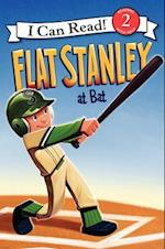Flat Stanley at Bat (I Can Read. Level 2)