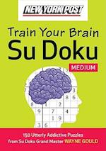 New York Post Train Your Brain Su Doku (New York Post Train Your Brain Su Doku)