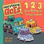 123 Beep Beep Beep! af Brian Biggs
