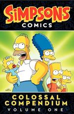 Simpsons Comics Colossal Compendium 1 af Matt Groening