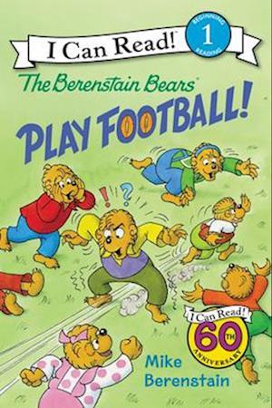 Bog, paperback The Berenstain Bears Play Football! af Mike Berenstain
