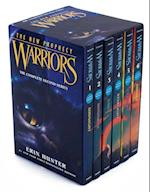 Warriors The New Prophecy af Erin Hunter