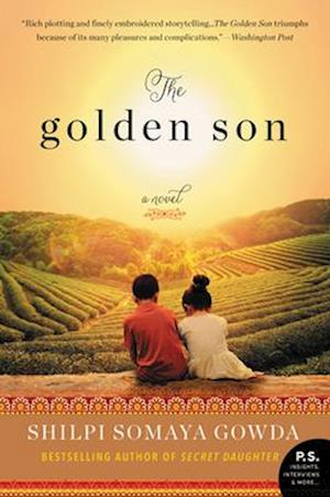 Bog, paperback The Golden Son af Shilpi Somaya Gowda