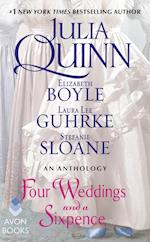 Four Weddings and a Sixpence af Elizabeth Boyle, Julia Quinn, Laura Lee Guhrke