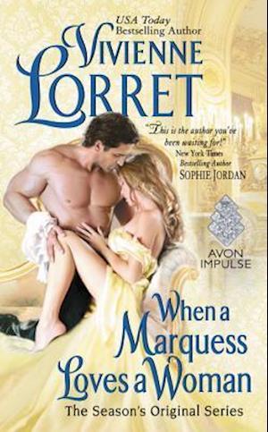 Bog, paperback When a Marquess Loves a Woman af Vivienne Lorret