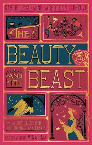 Bog, hardback The Beauty and the Beast (Illustrated with Interactive Elements) af Gabrielle-Suzanna Barbot de Villenueve