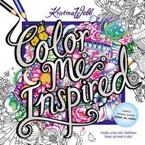 Bog, paperback Color Me Inspired af Kristina Webb
