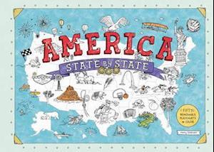 Bog, paperback America State by State af Holly Graham