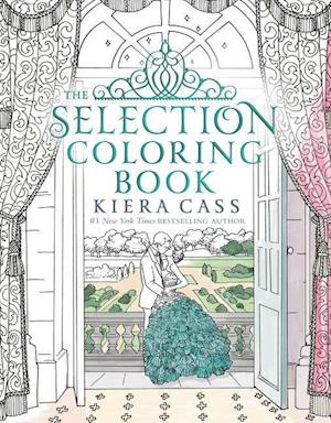 Bog, paperback The Selection Coloring Book af Kiera Cass