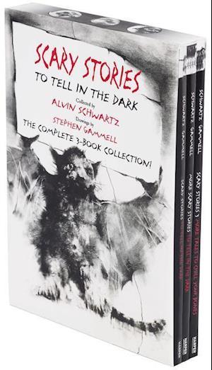 Scary Stories Paperback Box Set