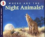 Where Are the Night Animals? af Mary Ann Fraser
