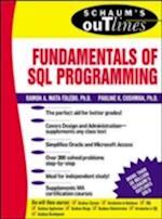 Schaum's Outline of Fundamentals of SQL Programming (SCHAUM'S OUTLINES)