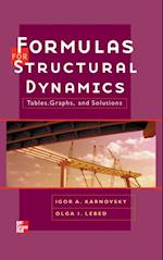 Formulas for Structural Dynamics: Tables, Graphs and Solutions