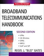 Broadband Telecommunications Handbook af Bates